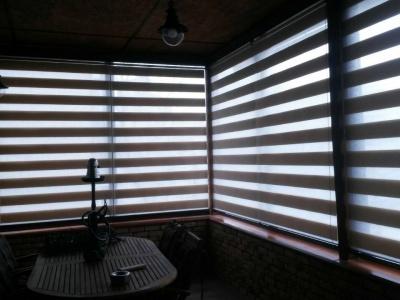 Рулонные шторы на большие окна в Киеве